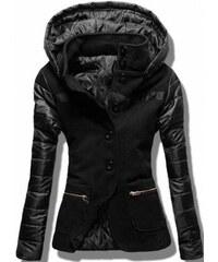 Dámský kabát Alecta černý - černá