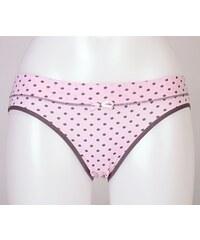 Donella Dámské kalhotky Máša - růžová/puntík