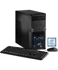Hyrican PC Intel® i5-6600, 16GB, SSD + HDD, GeForce® GTX 1070 »CyberGamer PC 5244«