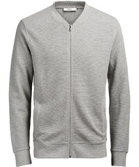 Jack & Jones Baseball- Sweatshirt mit Reißverschluss