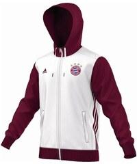 Mikina adidas FC Bayern Mnichov 3S XS BÍLÁ