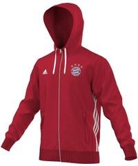 Mikina adidas FC Bayern Mnichov 3S XS ČERVENÁ