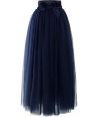 CHICWISH Dámská Maxi sukně Tutu Amore modrá