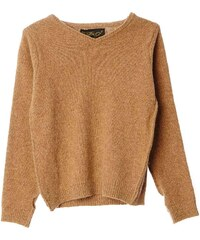 Finger in the Nose Pullover - braun