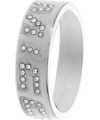 Miss Sixty Jewels Ring aus Edelstahl - silberfarben