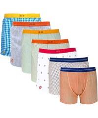 Dagobear Lot de 7 caleçons et boxers - multicolore