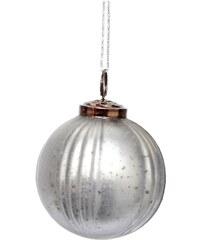 Hübsch Vánoční ozdoba Glass grey