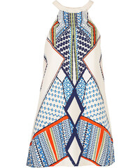 BODYFLIRT boutique Kleid ohne Ärmel in beige von bonprix