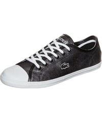 Große Größen: LACOSTE Ziane Sneaker Damen, metallic anthrazit, Gr.3.5 UK - 36.0 EU-7.5 UK - 41.0 EU