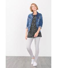Esprit T-shirt manches longues rayé, 100 % coton