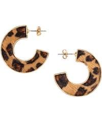 H&M Náušnice s leopardím vzorem