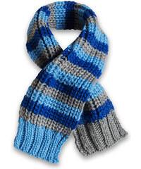 Esprit Měkký šál z pruhované žebrové pleteniny