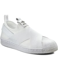 Boty adidas - Superstar Slip On W S81338 Ftwwht/Ftwwht/Cblack