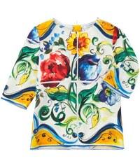 Dolce & Gabbana - Mädchen-Seidenshirt für Mädchen