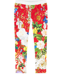 Roberto Cavalli Kids Print-Leggings
