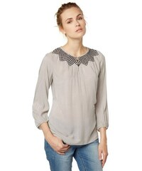 Damen Bluse embroidered print blouse Tom Tailor weiß 34,36,38,40,44,46