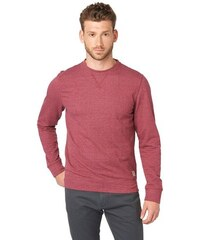 Sweatshirt crew neck sweat Tom Tailor rot L,XL,XXL,XXXL