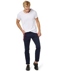 TOM TAILOR DENIM Hose workwear chino with suspenders blau L,M,S,XXL