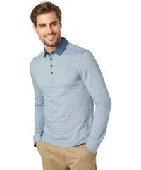 Tom Tailor Poloshirt jacquard polo blau L,XL,XXL,XXXL