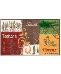 "wash & dry Fußmatte ""Toskana Mix"" bunt ca. 40/60 cm,ca. 50/75 cm,ca. 60/180 cm,ca. 60/85 cm,ca. 75/120 cm,ca. 75/190 cm"