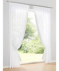 Dekostore 2er-Set Heine Home weiß ca. 145/140 cm,ca. 175/140 cm,ca. 225/140 cm,ca. 245/140 cm