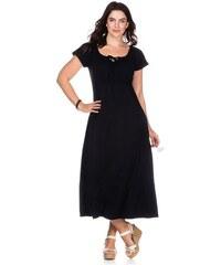 SHEEGO CASUAL Damen Casual Luftiges Kleid schwarz 40,42,44,46,48,50,52,54,56,58