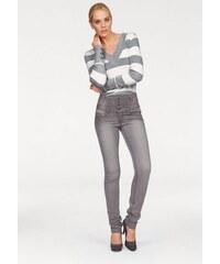 Damen High-waist-Jeans Arizona grau 17,18,19,20,21,22,76,80,84,88