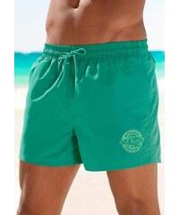 S.OLIVER RED LABEL Badeshorts RED LABEL Beachwear grün L(52),M(50),S(48),XL(54/56),XXL(58/60)