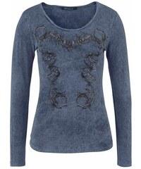 Cipo & Baxx Damen Langarmshirt blau L (40),M (38),S (36),XS (34)