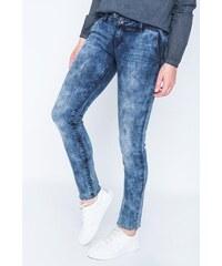 Jeans femme skinny Bleu Coton - Femme Taille 34 - Bonobo