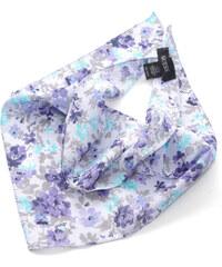 Guess trohúhelníkový šátek s motivy květů