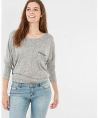 T-shirt strass gris chiné, Femme, Taille L -PIMKIE- MODE FEMME