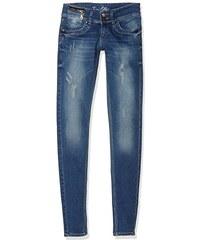 Toni Ellen Damen Jeanshose Blue Stoned Style