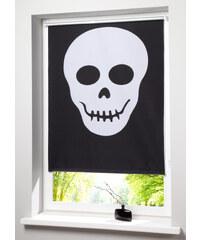bpc living Store enrouleur occultant Tête de mort, Fixation clipsable noir maison - bonprix