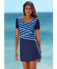 bpc bonprix collection Robe d'été: Robe de plage matière maillot de bain bleu maillots de bain - bonprix