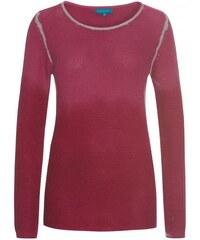 COOL CODE Damen Pullover Sweatshirt figurnah rot aus Baumwolle