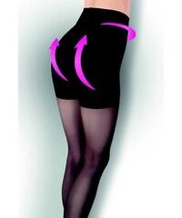 Evona Dámské punčochové kalhoty se zeštíhlujícím a push up efektem LARA černé-999