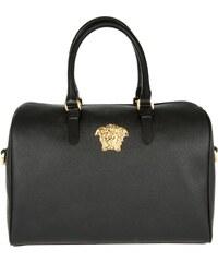 Versace Sacs portés main, Borsa Crystalline Fiber Nero en noir