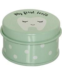 Bloomingville Kovová krabička na zoubky Mint
