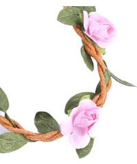 Lesara Haarband im Blüten- & Zweig-Design - Pink