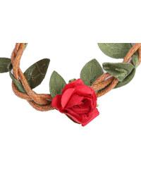 Lesara Haarband im Blüten- & Zweig-Design - Rot