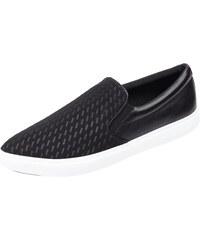 DKNY Slip-On Sneaker mit echtem Leder
