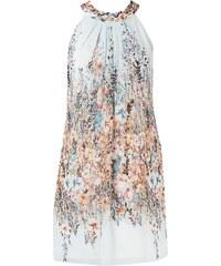 Esprit Collection Kleid aus Chiffon mit floralem Muster