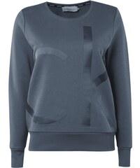 Calvin Klein Jeans Sweatshirt mit gummiertem Logo-Print