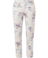 Raffaello Rossi Jeans mit floralem Muster und Zierschleifen