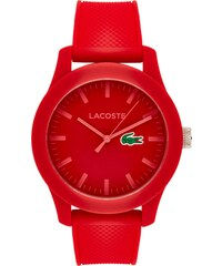 Lacoste Uhr aus robustem Kunststoff mit Dornschließe