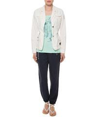 Bílý blazer s náprsními kapsami|L Soccx 459983