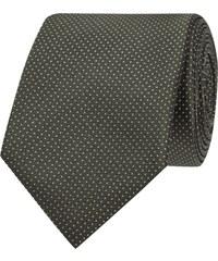 Jake*s Krawatte aus Seide mit Tupfenmuster