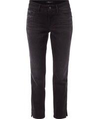 Cambio Used Jeans mit Ziersteinen - verkürzt