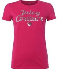 Juicy Couture T-Shirt mit Logo aus Pailletten
